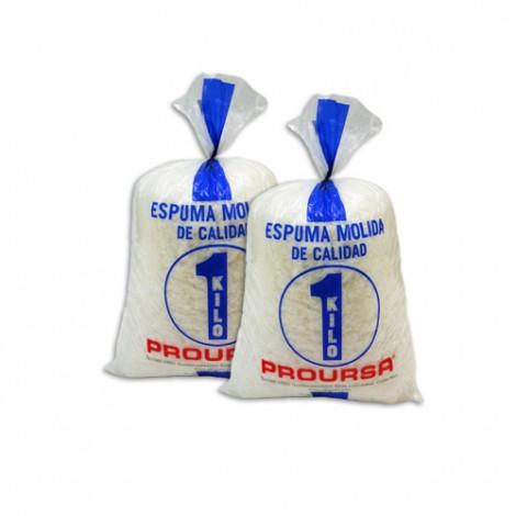 Espuma MOLIDA (Bolsa 1 Kilo)